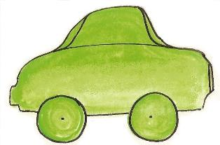 green car to teach sight words printables